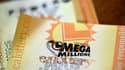 Un billet de la loterie américaine Mega Millions, qui peut rapporter très gros ce vendredi.