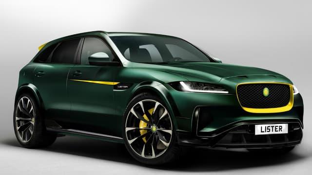 Le Britannique Lister revendique pour ce SUV le titre de 'SUV le plus rapide au monde'.