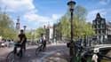 Amsterdam a été occupée par les Allemands de 1940 à 1945.