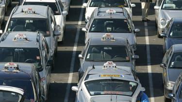 Les chauffeurs de taxi appellent à une nouvelle mobilisation nationale à partir du 26 janvier. (Photo d'illustration)