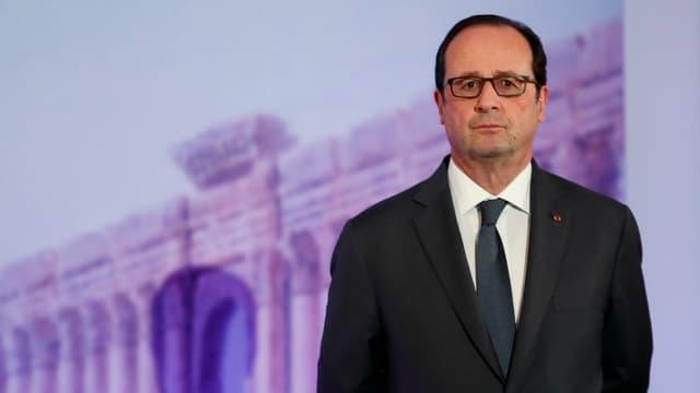 Le chef de l'Etat François Hollande, le 13 décembre 2016 à Paris.