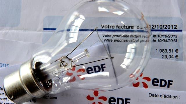 Les Français sont fâchés avec leur facture d'électricité.