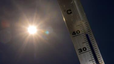 Thermomètre (photo d'illustration)