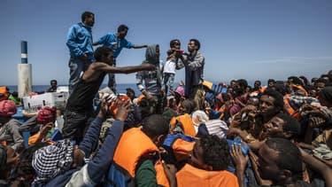 Depuis janvier dernier près de1.800 migrants ont perdu la vie dans la traversée de la Méditerranée.