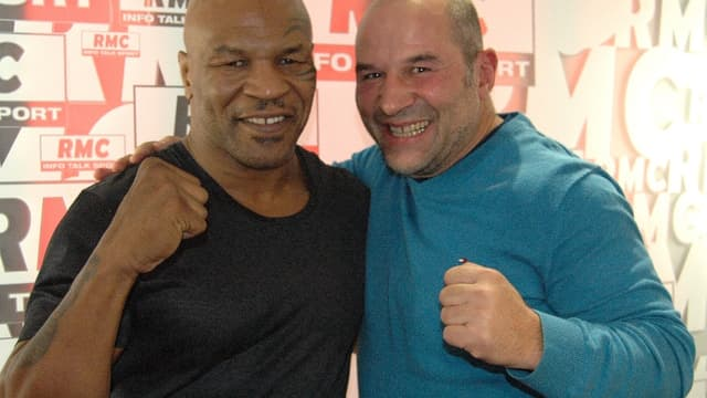Mike Tyson et Vincent Moscato