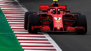 F1 TV permettra de suivre un grand prix via la caméra d'un pilote (ici l'ex-champion du monde Kimi Raikkonen).