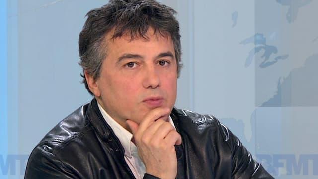 Patrick Pelloux, urgentiste et chroniqueur pour Charlie Hebdo.