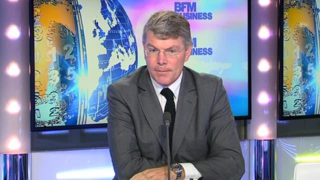 Pierre Berger, le PDG d'Eiffage, a défendu le modèle économique des concessions autoroutières au micro de BFM Business.