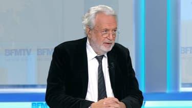 Maître Jean-Alain Michel, avocat de Jérôme Cahuzac, jeudi 8 décembre sur BFMTV.