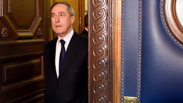 Claude Guéant au palais de justice de Paris le 28 septembre 2015.