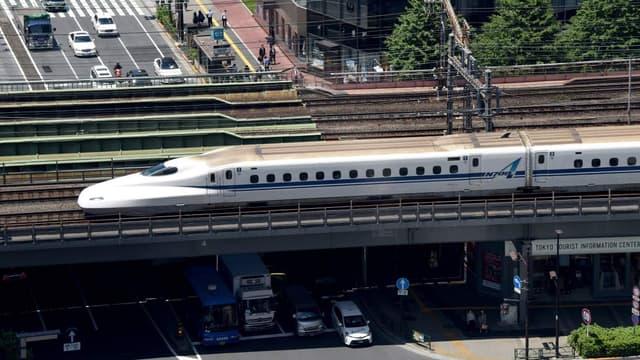Le Shinkansen avait déjà connu des déraillements mais ils avaient été causés par des catastrophes naturelles (photo d'illustration)