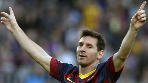 Lionel Messi avait été devancé, en 2013, par David Beckham.