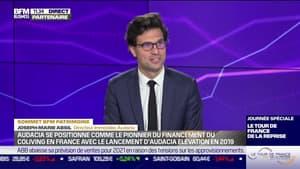 Sommet BFM Patrimoine : Audacia se positionne comme le pionnier du financement du coliving en France avec le lancement d'Audacia Élévation en 2019 - 21/10