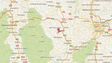 Les faits se sont déroulés dans Chalain-d'Uzore, dans la Loire.