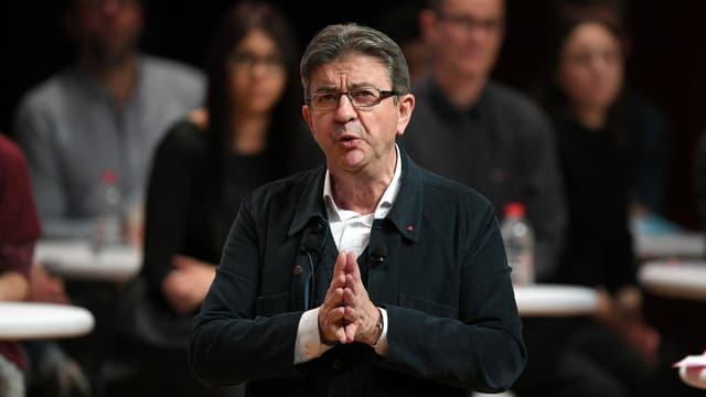 Jean-Luc Mélenchon à Strasbourg.