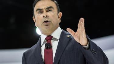"""Carlos Ghosn, le patron de Renault-Nissan, estime que l'alliance franco-japonaise """"a le potentiel"""" pour intégrer le trio de tête."""