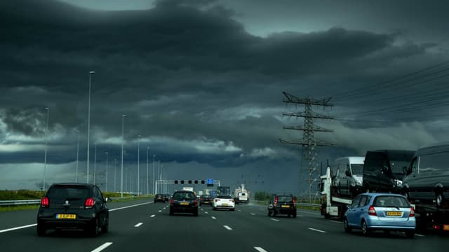 L'autoroute A2 entre Utrecht et Amsterdam sera bientôt limitée à 100km/h en journée.