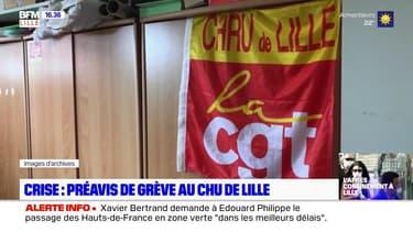 La CGT lance un préavis de grève au CHU de Lille