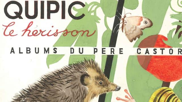 Couverture de Quipic le hérisson, un album du Père Castor.