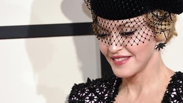 La chanteuse Madonna aux Emmy Awards en 2015.