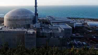 La centrale nucléaire de Flamanville, dans la Manche.