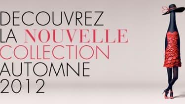L'affiche du Beaujolais nouveau 2012 reprend les codes de la haute-couture française