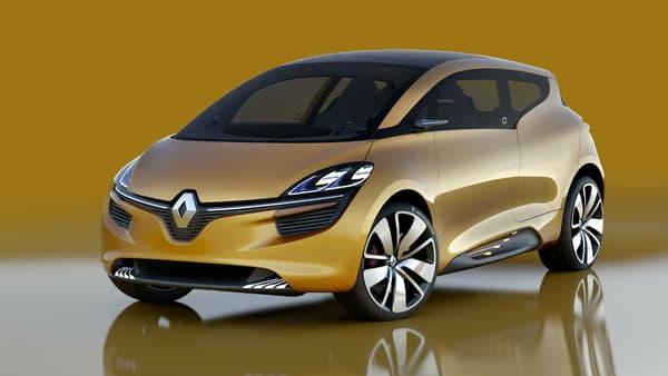 Le concept R-Space préfigure le design de la quatrième génération du Scénic dévoilée au salon de Genève.