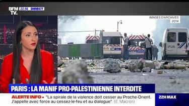 Le plus de 22h Max:La manif pro-palestinienne à Paris interdite - 13/05