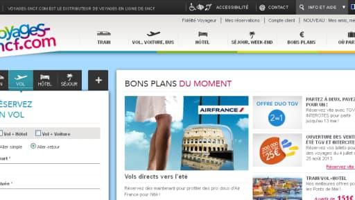 Le service français est proposé par une filiale commune entre la SNCF et l'américain Expedia