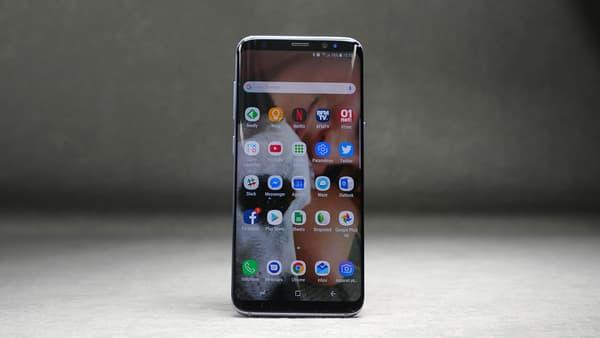 L'écran sans bords du Galaxy S8 est magnifique