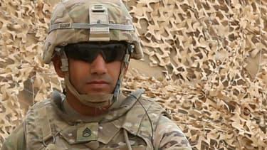 Un soldat américain en Jordanie, le 24 mai 2016. (Photo d'illustration)