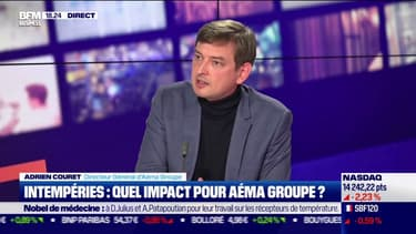 Les effets de la sécheresse représentent un des coûts les plus conséquents pour les assureurs et les assurés selon Adrien Couret (Aéma Groupe)