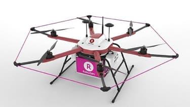 Le service de livraison par drones de Rakuten est baptisé Sora Raku.