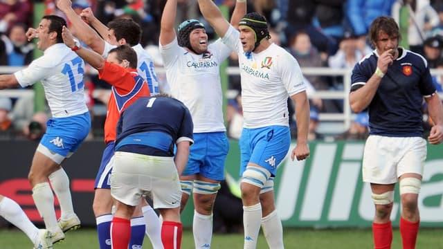 La joie des Italiens en 2011