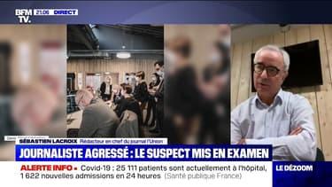 """""""C'est un choc"""": le rédacteur en chef de L'Union réagit à l'agression d'un journaliste à Reims"""