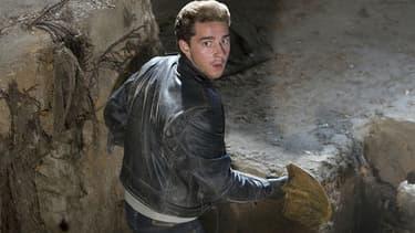 """Shia LaBeouf dans """"Indiana Jones et le Royaume du Crâne de Cristal"""" en 2008"""