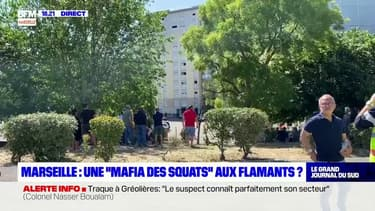 """Marseille: l'ombre d'une """"mafia des squats"""" dans la cité des """"Flamants"""" après l'incendie de samedi"""