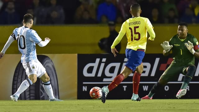 Messi triple buteur contre l'Equateur