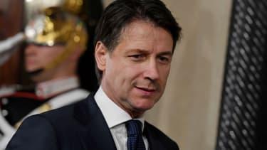 Giuseppe Conte à Rome (Italie), le 31 mai 2018 -