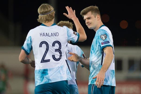 Erling Haaland et Alexander Sorloth