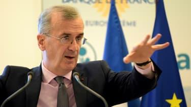 Le gouverneur de la Banque de France, François Villeroy de Galhau, en mars 2019 à Paris