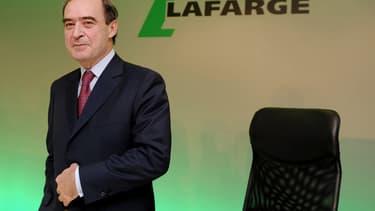 Bruno Lafont, l'ancien patron de Lafarge, est entendu par les enquêteurs.