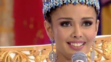 Megan Young, Miss Philippine, a été élue miss monde samedi, à Bali