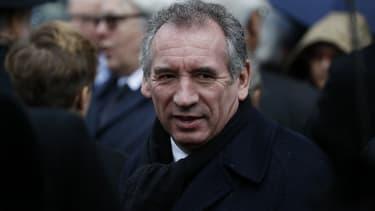 François Bayrou, président du Modem et maire de Pau.