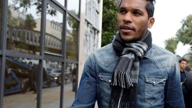 L'ex-joueur de Marseille devenu bastiais, Brandao.