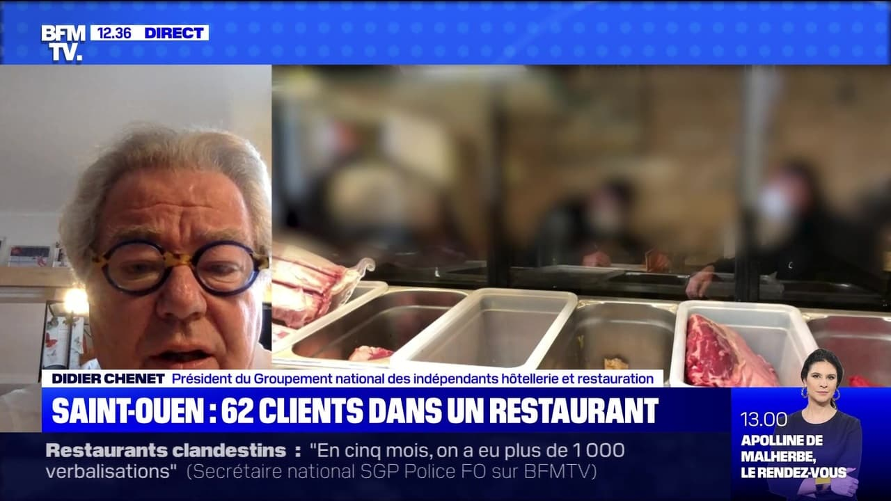 Resto clandestin : 62 clients pris en flagrant délit - 10/04