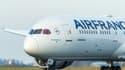 Un avion connecté d'Air France KLM.