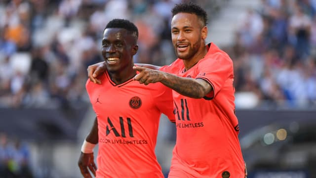 Gueye et Neymar - Paris-SG