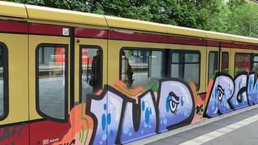 L'année dernière, les tagueurs ont causé à la Deutsche Bahn un préjudice estimé à 7,6 millions d'euros.