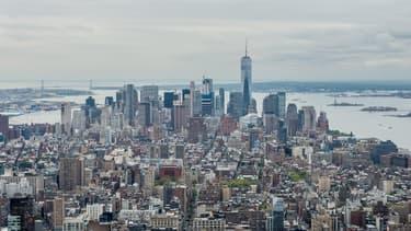 Vue de la ville de New York